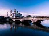 Athlone Bridge And River At Day