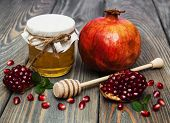 Honey  And Pomegranate