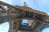 Constructions of Eiffel Tower in Paris