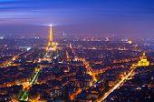 PARIS, FRANCE - 29 NOVEMBER, 2014: Paris (France) in the fog