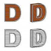 picture of letter d  - Letter D  - JPG