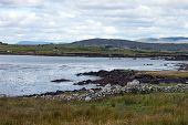 stock photo of galway  - View near Rosmuc - JPG
