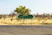Постер, плакат: Alice Springs In Northern Territory Australia