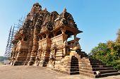 stock photo of khajuraho  - Vishvanath temple - JPG