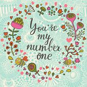 picture of you are awesome  - You are my number one - JPG