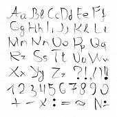 pic of punctuation  - The English alphabet - JPG