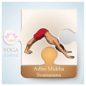 picture of pranayama  - Exercise of yoga practice yoga postures or yoga positions - JPG
