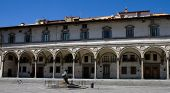 Renaissance Arks Of Piazza Santissima Annunziata