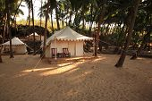 Luxury Tent On The Beach India