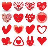 Heart Icons Set