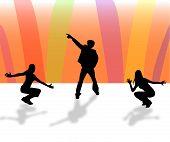 Dance Show Illustration