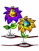Flowers Cartoon