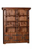 Big Antique Wooden Case