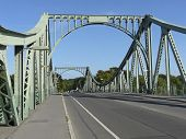 The Glienicke Bridge Between Berlin And Potsdam Which Was Formerly Called Bridge Of The Spies