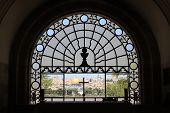 Window in Dominus Flevit Church