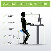 sitting poster