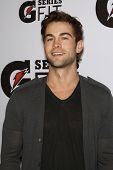 LOS ANGELES - APR 12:  Chace Crawford at the 'Gatorade G Series Fit Launch Event' at the SLS Hotel i