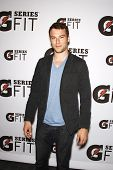 LOS ANGELES - APR 12:  Peter Mooney at the 'Gatorade G Series Fit Launch Event' at the SLS Hotel in