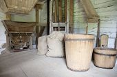 Vintage Mill Hopper