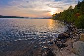 Algonquin Provincial Park, Interior Lake Sunset