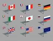 Flag Pins - G8.Eps