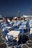Greek Taverna, Restauran Tables