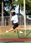 Extreme Effort In Tennis