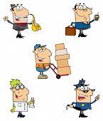 Menschen der verschiedenen Berufe-Collection 4