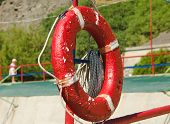 Red Ring-Buoy