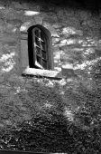 Castle Window Black And White