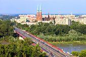 Paisagem urbana de Varsóvia