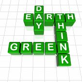 Earth Day Think Green