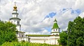 Tower In New Jerusalem Monastery - Russia