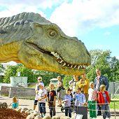 Dinosaur Exhibition In Finnish Science Centre Heureka