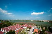 Landscape Of Khonkaen Lake, Thailand