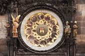 Calendar Of The Prague Astronomical Clock