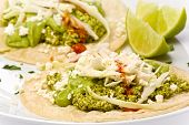 Vegetarian Green Chorizo Tacos