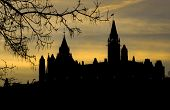 Centre Block Sunrise