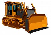 Bulldozer Vector 01.eps