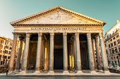 Pantheon, Rome, Italy, Europe. Rome Ancient Temple Of All The Gods. Rome Pantheon Is One Of The Best poster