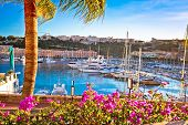 Monte Carlo Yachting Harbor And Waterfront View, Principality Of Monaco poster