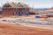 New Housing Estate Construction Site