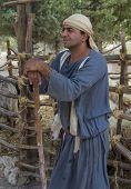 palästinensischen Hirten