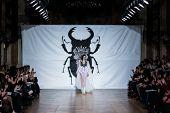 PARIS - JANUARY 23, 2013 : on aura tout vu spring summer 2013 fashion show at Paris fashion week Jan