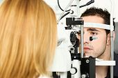 Medical Attendance At The Optometrist