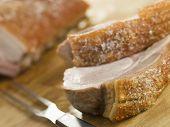 Roast Loin Of Pork With Crispy Crackling