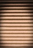 foto of clos  - the dark brown corrugated cardboard clos up - JPG