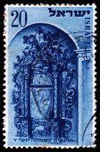 Holy Arks In Synagogues In Jerusalem