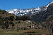 Farmland, Sierra Nevada, Andalusia, Spain.