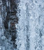 Dripping Ice Formation Abstract